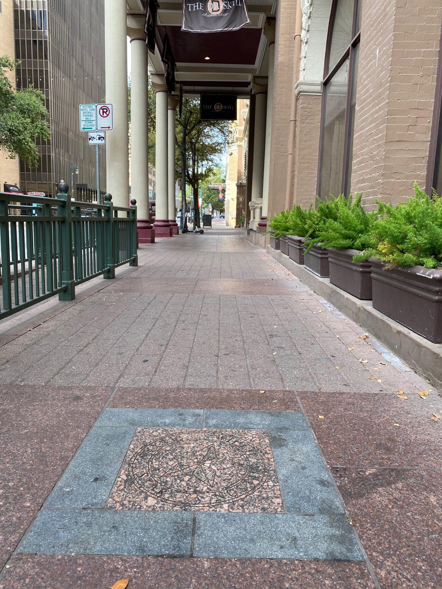 Willie Nelson's star on Texas Walk of Stars