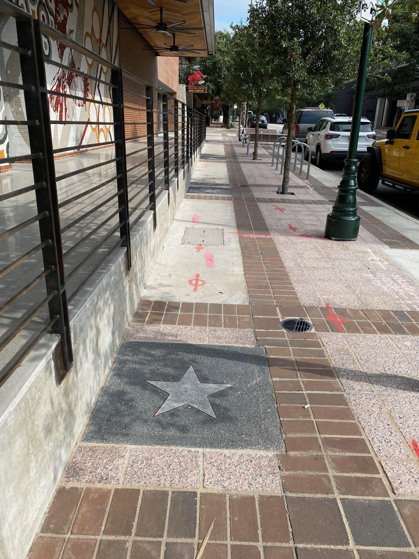 Texas Walk of Stars new Marriott
