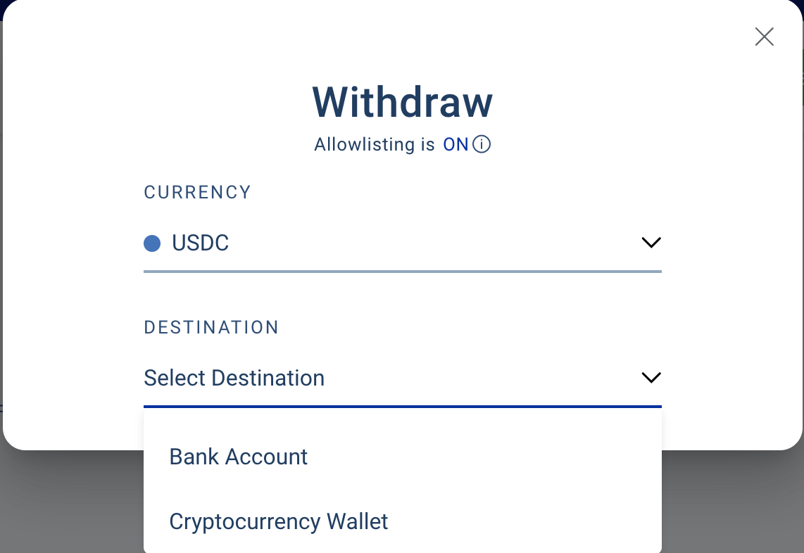 BlockFi withdrawal