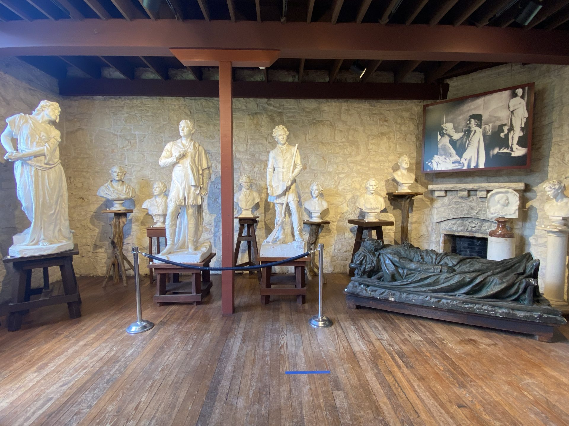 Elisabet Ney Museum Gallery Two