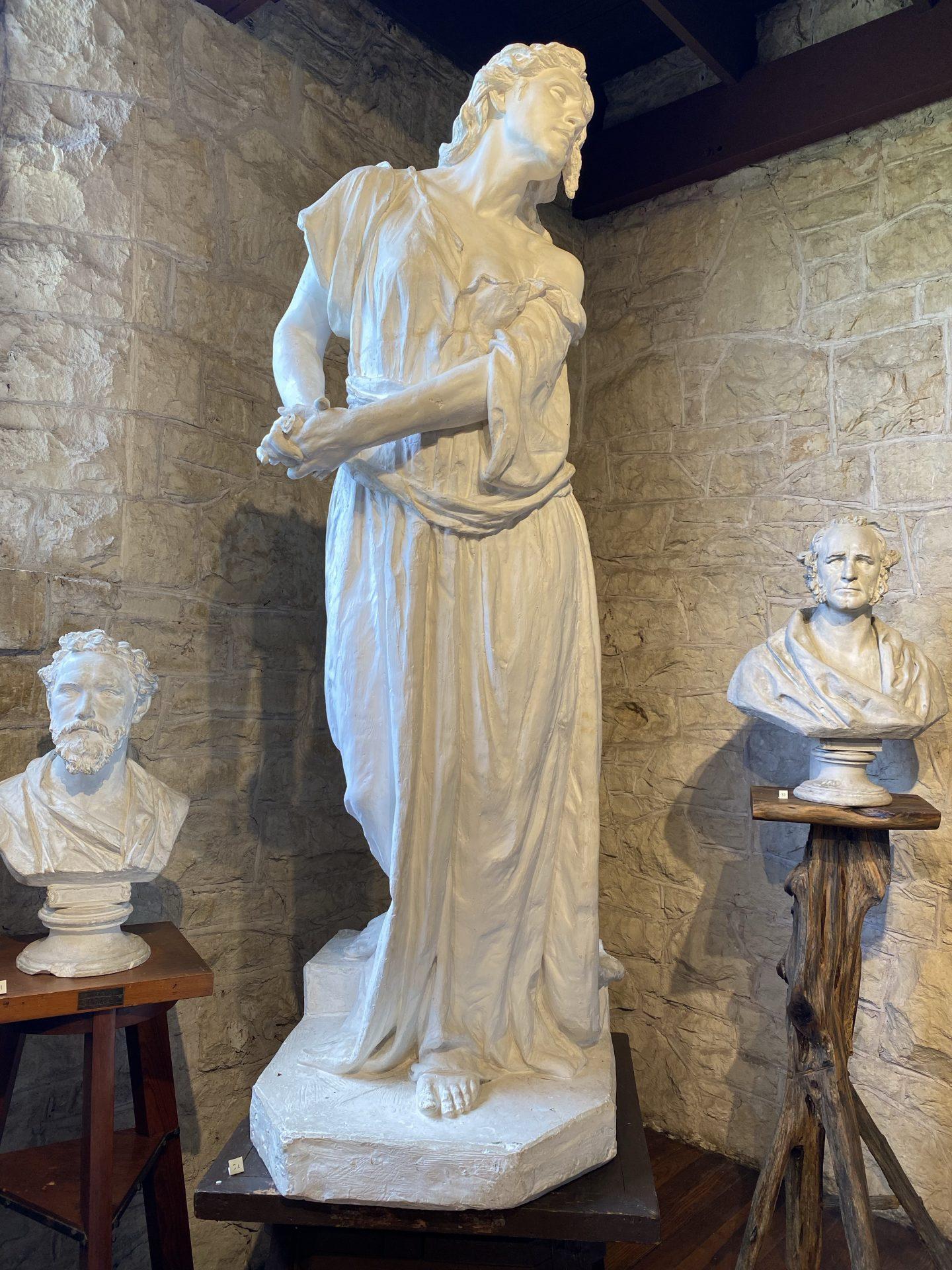 Lady Macbeth at the Elisabet Ney Museum