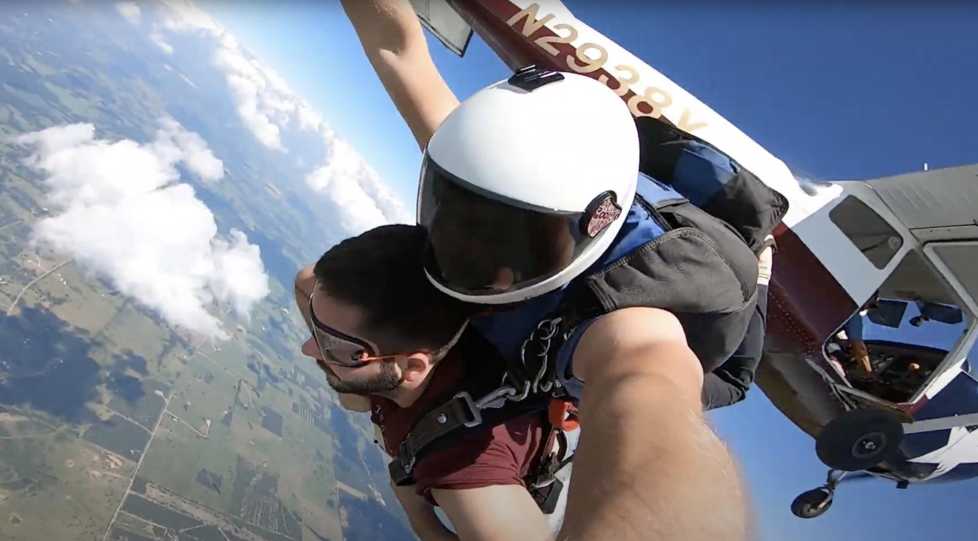 Freefall Texas Skydiving Josh