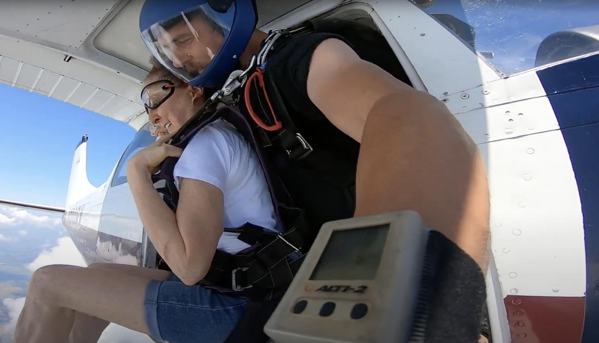 Freefall Texas Skydiving Sara