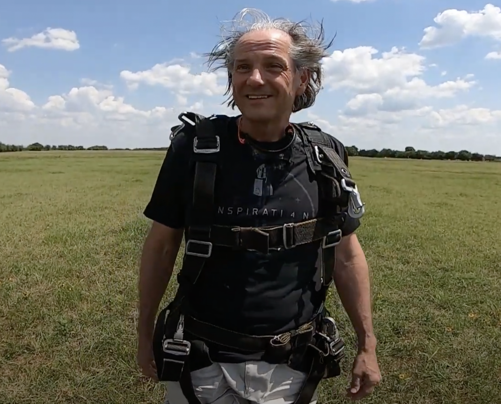 Hair after Texas Skydiving